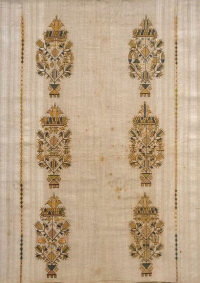 6 embroidered motifs <span></span>